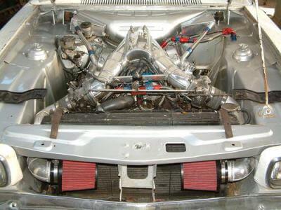289 windsor twin throttle body manifold