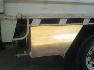 External Water Tank