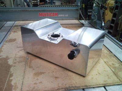 HQ Aluminium fuel tank 65lt LS1 fuel pump