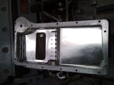 HQ Aluminium sump LS1