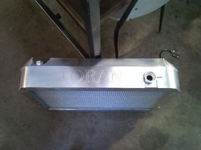Torana radiator cover